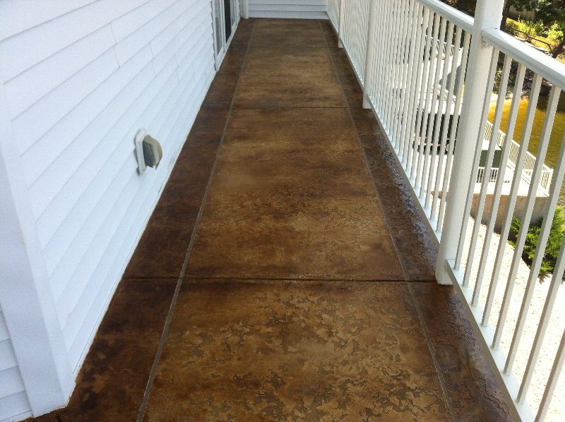 Stamped Concrete Flooring In Ghana : Photo s of all my decorative concrete