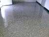 Decorative Concrete Marty's Marine Vinyl Chip Showroom Floor Lake Ozark Missouri