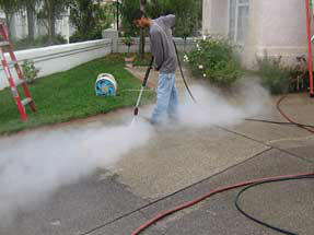 A few important concrete cleaning tips for Pressure wash concrete patio