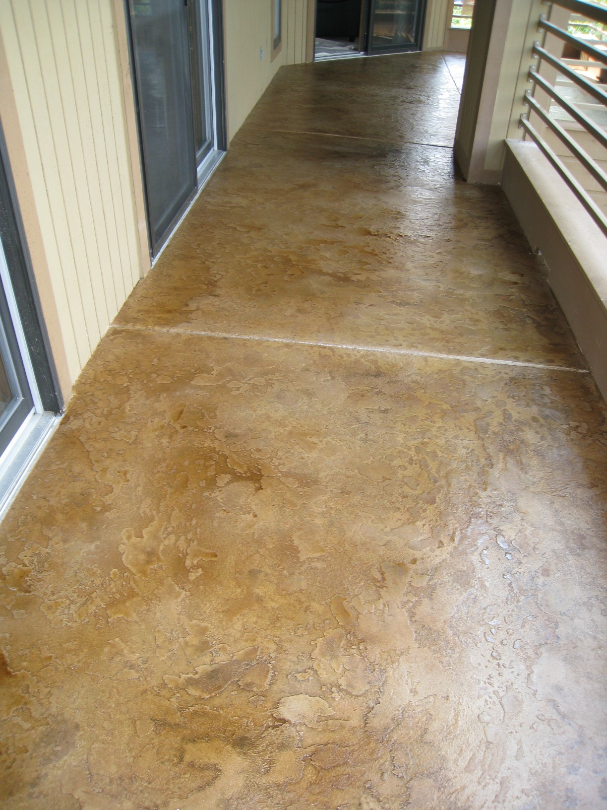 Concrete Overlay Flooring : Recent work