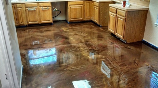 Custom Stained Concrete Floors : What are the benefits of owning a decorative concrete