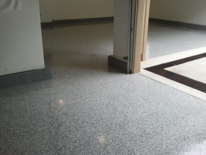 3 Car Epoxy Garage Floor