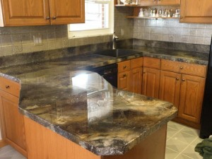 Epoxy countertops vs other counter top options for Can you paint granite countertops