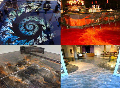 Amazing Decorative Concrete Floors by Custom Concrete Design Lake Ozark