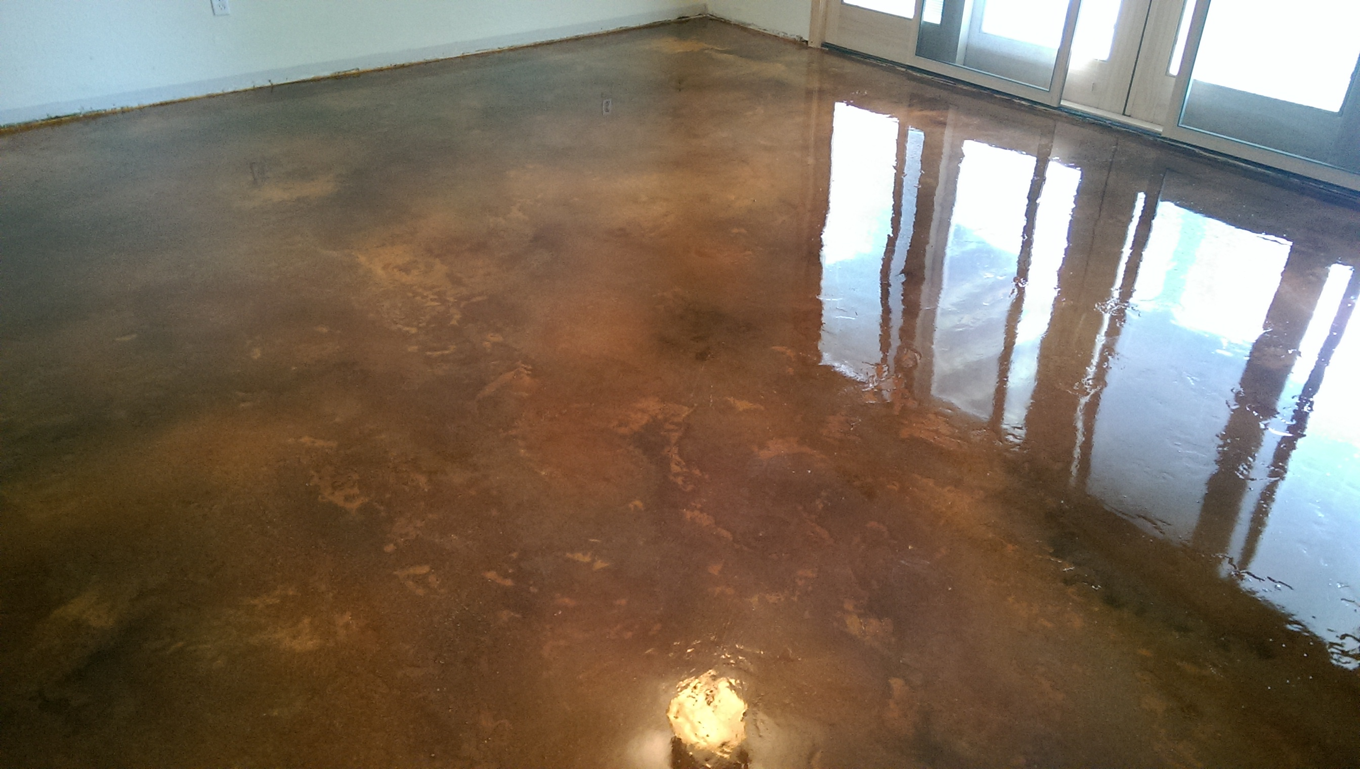 Concrete Wood Floor Custom Concrete Design Lake Ozark Decorative Concrete Flooring